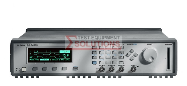 Keysight (Agilent) 81101A 50MHz Pulse/Pattern/Timing Generator